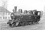 """Borsig 5179 - BKrB """"1"""" __.__.1954 - Bahnhof WertherPalle Gabriel [†] (Archiv Iskov / Kleinbahnmuseum Enger)"""