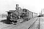 """Borsig 5179 - BKrB """"1"""" __.02.1954 - Bahnhof WertherPalle Gabriel [†] (Archiv Iskov / Kleinbahnmuseum Enger)"""