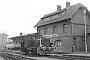 """Deutz 15318 - MEM """"V 5"""" 08.04.1979 - Minden (Westfalen), Bahnhof Minden StadtRichard Schulz (Archiv Christoph und Burkhard Beyer)"""