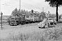 """Deutz 47165 - HK """"Köf 12"""" 20.05.1966 - Enger-Steinbeck, BahnhofHelmut Beyer"""