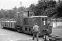 "Deutz 47165 - HK ""Köf 12"" 22.06.1953 - Herford, KleinbahnhofPeter Boehm † (Archiv A. Reuther)"
