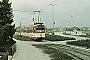 """Düwag ? - Stadtwerke Bielefeld """"808"""" 20.04.1973 - Bielefeld, Endstelle VoltmannstraßeHelmut Beyer"""