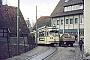 """Düwag ? - Stadtwerke Bielefeld """"237"""" 02.02.1968 - Bielefeld, Endstelle SchildescheHelmut Beyer"""