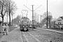 """Düwag 26614 - HK """"9"""" 22.04.1966 - Bahnhof SteinbeckHelmut Beyer"""