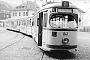 "Düwag ? - Stadtwerke Bielefeld ""841"" 25.04.1969 - Bielefeld, Betriebshof Schildescher StraßeArchiv Helmut Beyer"