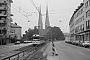 "Düwag ? - Stadtwerke Bielefeld ""806"" 03.08.1981 - Bielefeld, Kreuzstraße, nahe AdenauerplatzChristoph Beyer"