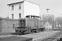 """Henschel 25941 - MKB """"V 14"""" 11.04.1979 - Minden (Westfalen), Bahnhof Minden StadtDietrich Bothe"""