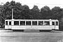 """Lindner ? - Straßenbahn Minden """"106"""" 08.08.1936 - Porta, EndstelleWerkfoto Lindner, Archiv Bodo-Lutz Schmidt"""