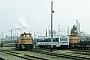 """MaK 1000896 - TWE """"V 157"""" 28.09.1996 - Gütersloh, Bahnhof Gütersloh NordPeter Flaskamp-Schuffenhauer"""