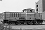 "MaK 800091 - mkb ""V 1"" 12.07.1983 - Porta Westfalica-Nammen,  Anschlussgleis Barbara RohstoffbetriebeDietrich Bothe"