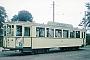 """Uerdingen 37962 - Straßenbahn Minden """"104"""" __.__.1958 - Minden, Endstelle PortaKarl-Heinz Schreck [†] Archiv Michael Sinnig"""