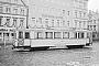 """Uerdingen 37962 - Straßenbahn Minden """"104"""" __.__.195x - Minden, MarktWerner Rabe"""