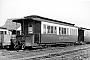 """Weyer ? - BKrB """"12"""" __.02.1954 - Bielefeld, KreisbahnhofPalle Gabriel [†] (Archiv Iskov / Kleinbahnmuseum Enger)"""